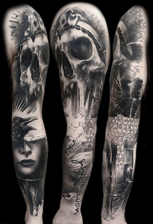 Tattoo Gallery Trash Polka Tattoos By Volko Merschky Amp Simone Pfaff